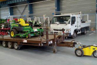 Alitrak TT600_Waste garage 1