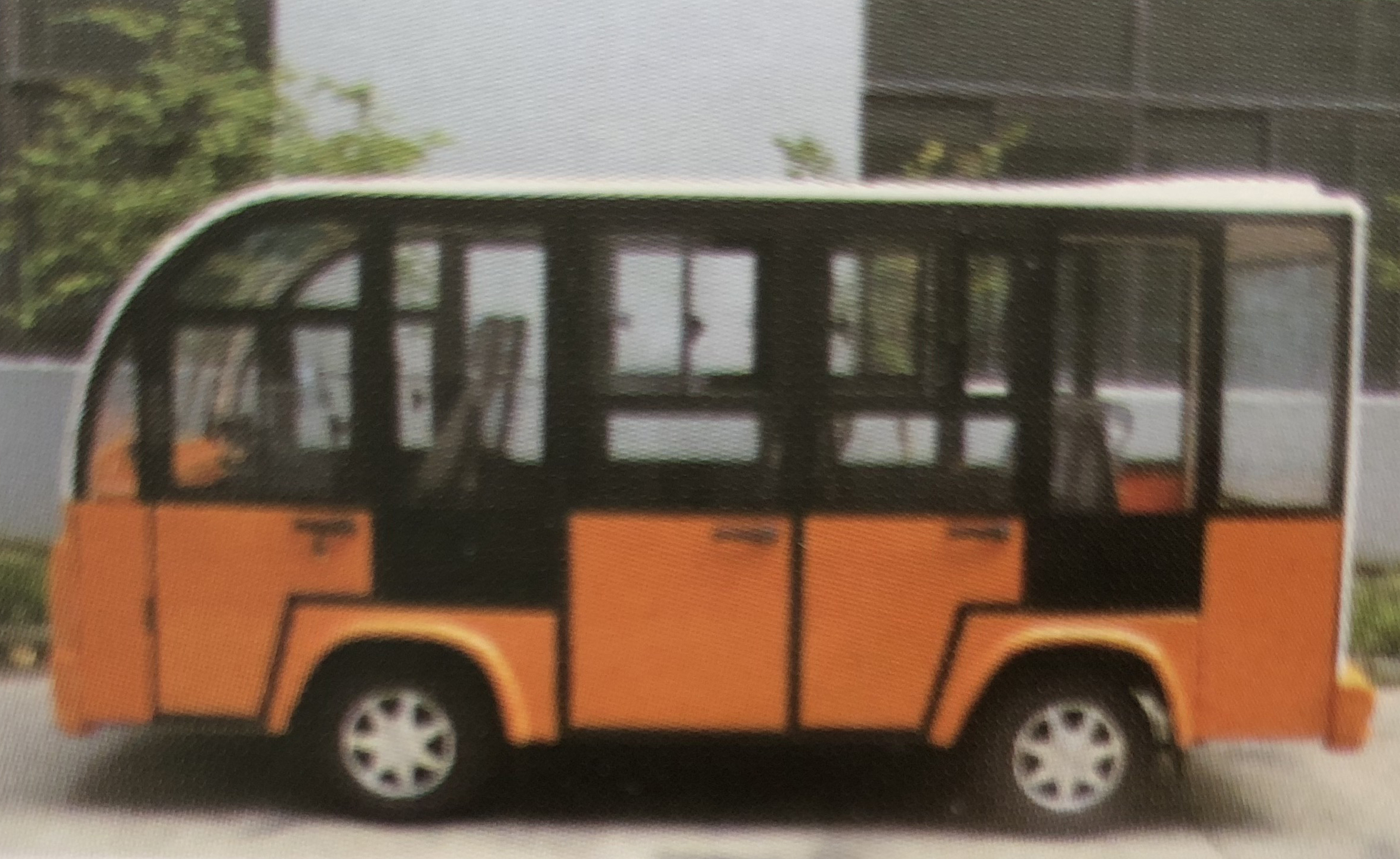 Aw Series Electric Shuttle Bus 11 Seats Emoveit