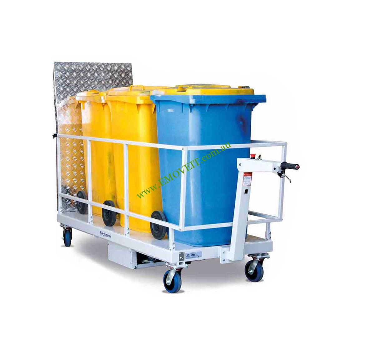 Different Types of Wheelie Bin Handling Devices / Emoveit